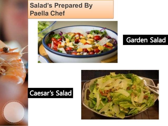 Tapas Varieties By Paella Chef