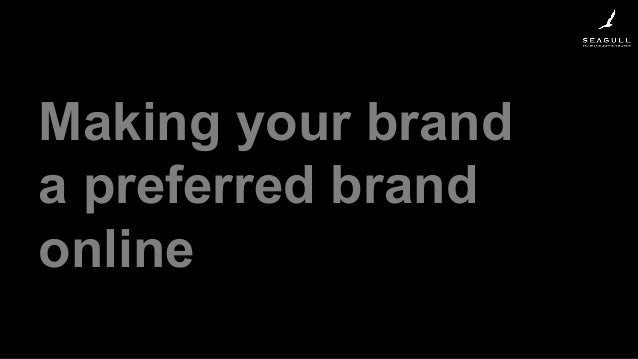 Making your brand a preferred brand online