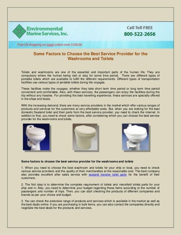 Sealand dometic toilet parts