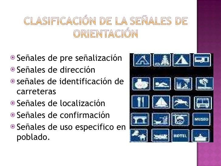 Señal De Localización: Señales Orientacion