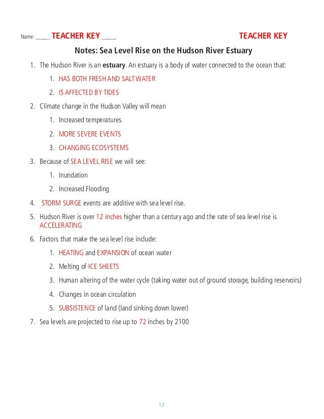 Blue Planet Tidal Seas Worksheet Answers Livinghealthybulletin