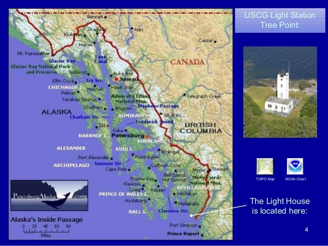Pelican Bay Alaska Map.Southeast Alaska Lighthouses