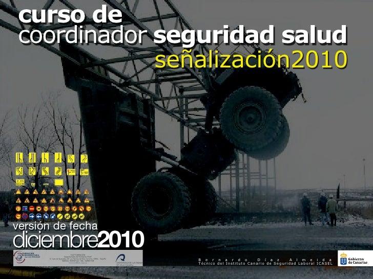 curso decoordinador seguridad salud            señalización2010                                                           ...