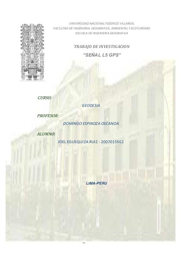 Página 1 de 21 UNIVERSIDAD NACIONAL FEDERICO VILLAREAL FACULTAD DE INGENIERIA GEOGRAFICA, AMBIENTAL Y ECOTURISMO ESCUELA D...