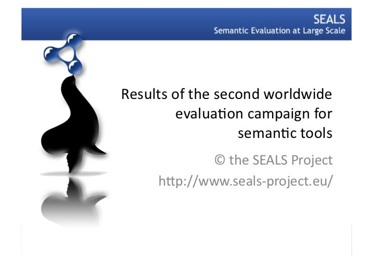 Results of the second worldwide             evalua3on campaign for                            seman3c to...