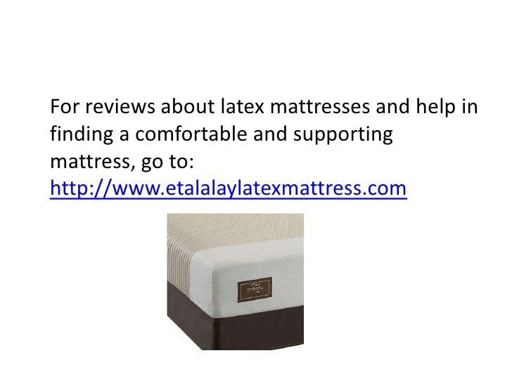 nutural latex mattress reviews
