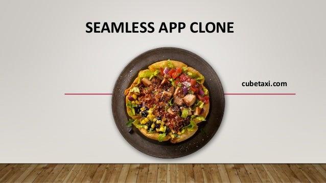 SEAMLESS APP CLONE cubetaxi.com