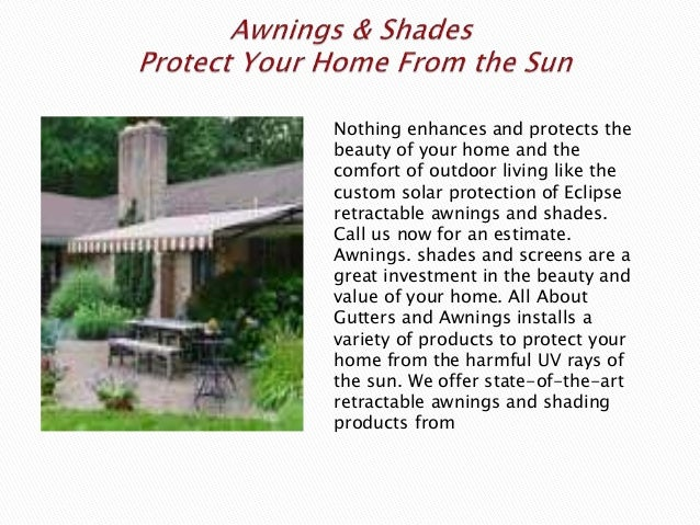 Seamless Gutters and Awnings in Sacramento