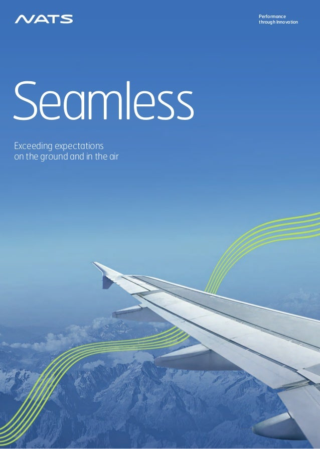 Seamless Exceeding expectations on the ground and in the air Performance through Innovation