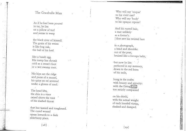 funeral rites seamus heaney poem