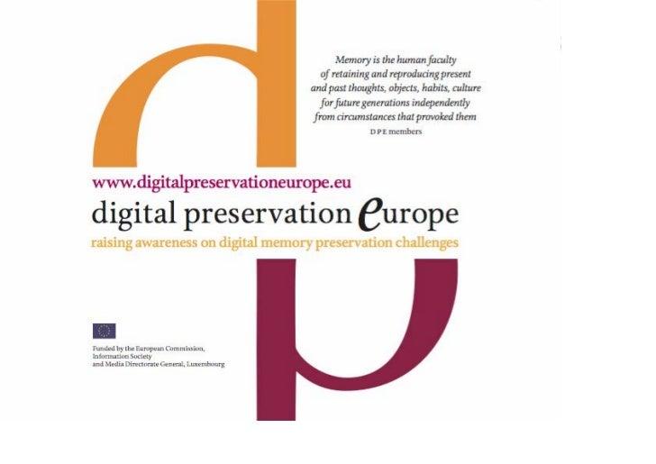 DPE Lisbon Presentation 1