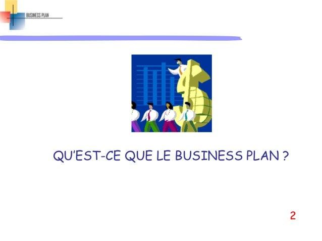 Powerpoint de la séance4.1 de Business Plan Slide 2