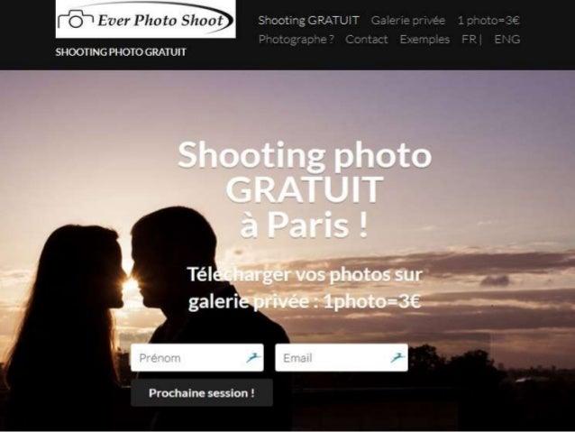 Seance shooting photo gratuit et pas cher à paris - Everphotoshoot.com