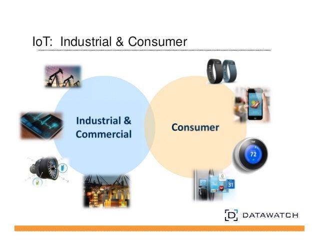IoT: Industrial & Consumer  Industrial &  Commercial Consumer