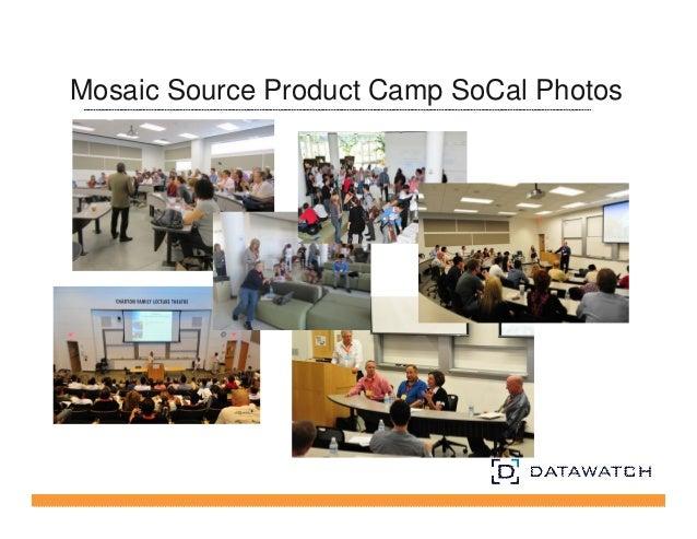 Mosaic Source Product Camp SoCal Photos