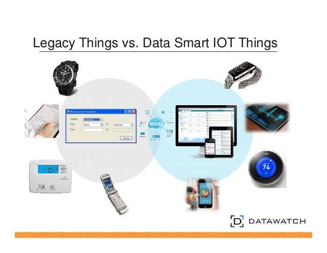 Legacy Things vs. Data Smart IOT Things