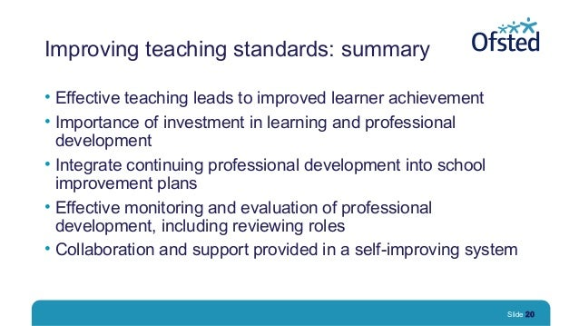 importance of continuing professional development for teachers