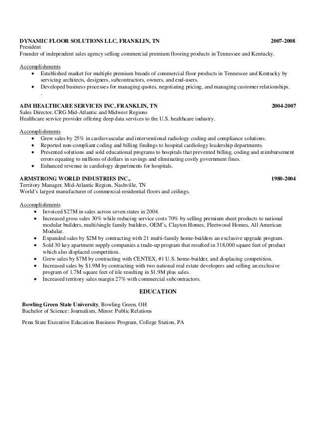 sean mcconnell resume u0026 39  professional salesperson