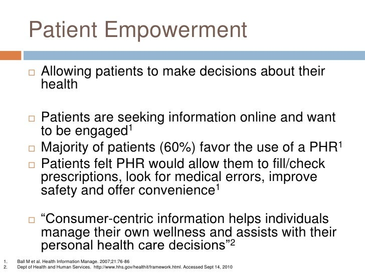 patient empowerment in nursing Historically, empowerment in nursing was viewed as something nurses encouraged in patients however, empowerment in the nursing literature has shifted from a focus on individual nurses' ability to.