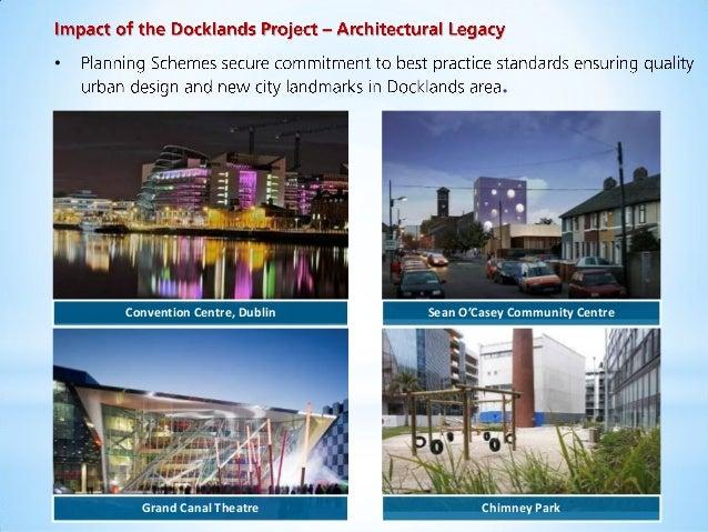 Docklands Authority's Schools Programme • Up to 14 programmes a year in 25 Docklands Schools • • • • •  3rd Level Scholars...