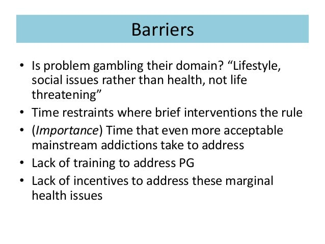 Gambling barriers indian casino california bay area