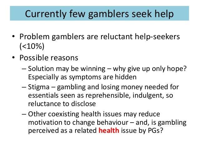 Problem gambling solutions cindy boyd grand victoria casino