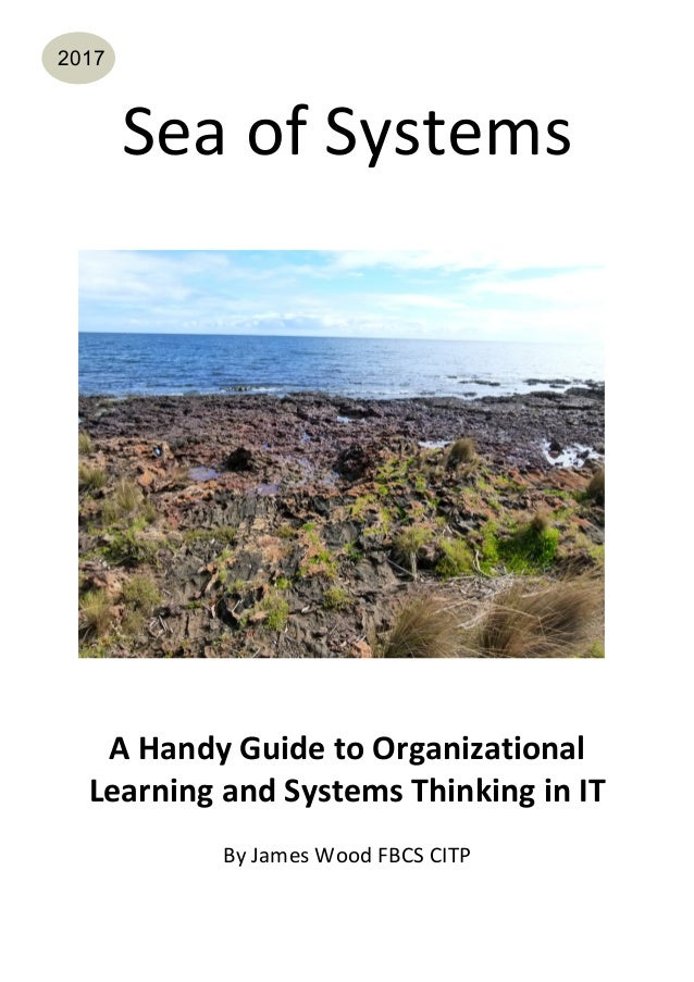 Sea of Systems A Handy Guide to Organizational Learning and Systems Thinking in IT By James Van Wood
