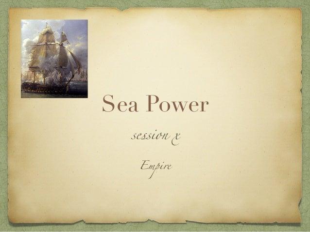 Sea Power session x Empire