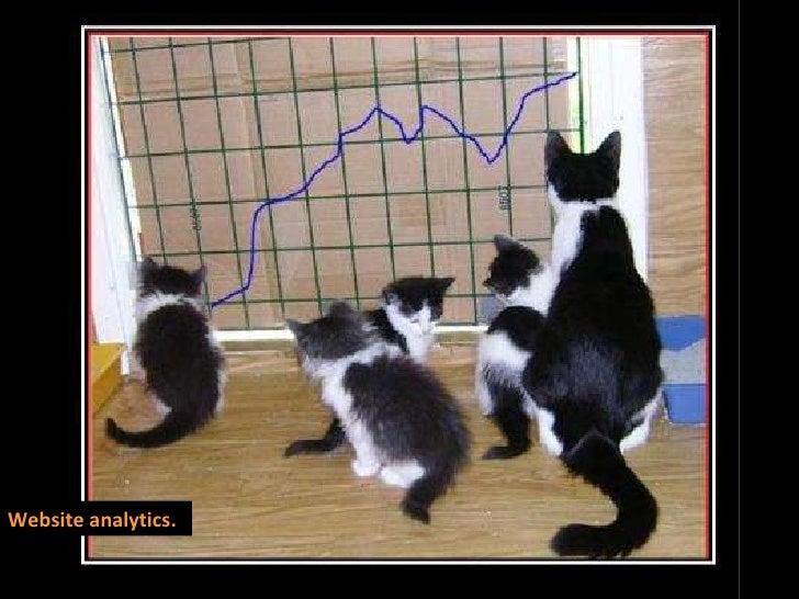 Website analytics.