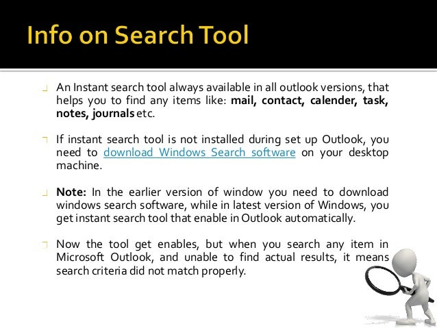 how to search mail in outlook
