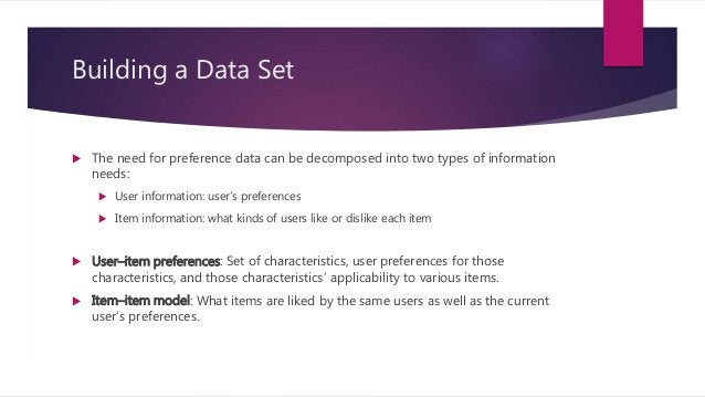 Cold-Start Problem  Problem of providing recommendations when there is not yet data available  Item cold-start: A new it...