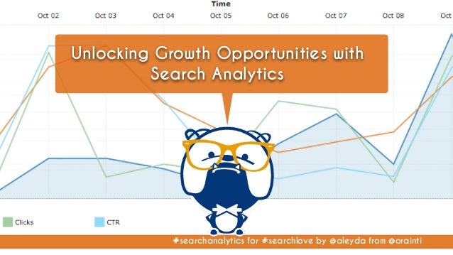 #searchanalytics for #searchlove by @aleyda from @orainti Unlocking Growth Opportunities with Search Analytics