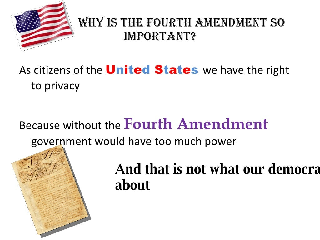 what is a search under the fourth amendment