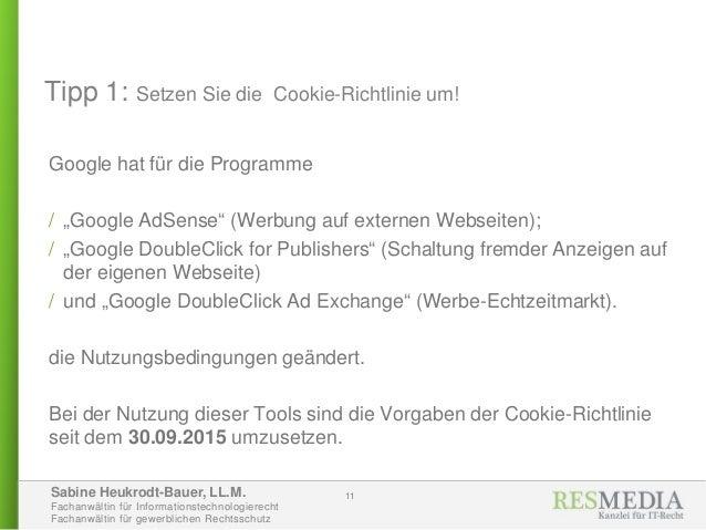 Sabine Heukrodt-Bauer, LL.M. Fachanwältin für Informationstechnologierecht Fachanwältin für gewerblichen Rechtsschutz Tipp...