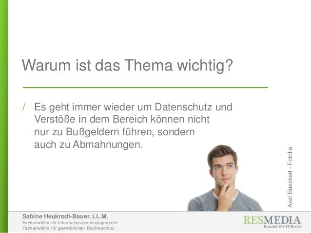 Sabine Heukrodt-Bauer, LL.M. Fachanwältin für Informationstechnologierecht Fachanwältin für gewerblichen Rechtsschutz Waru...