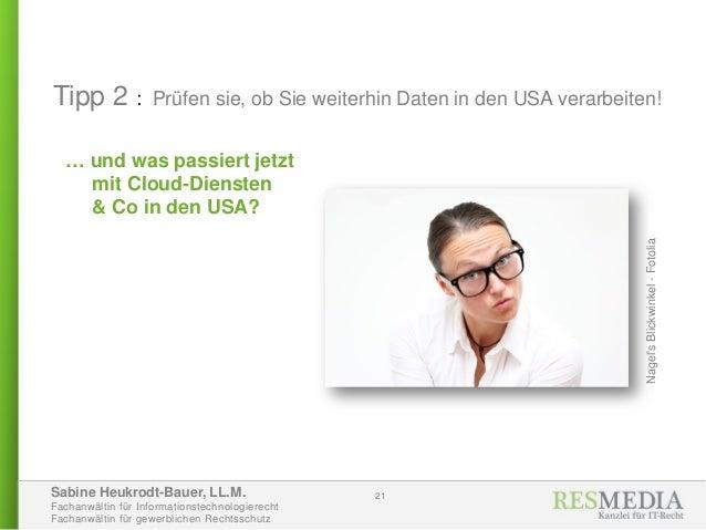 Sabine Heukrodt-Bauer, LL.M. Fachanwältin für Informationstechnologierecht Fachanwältin für gewerblichen Rechtsschutz … un...