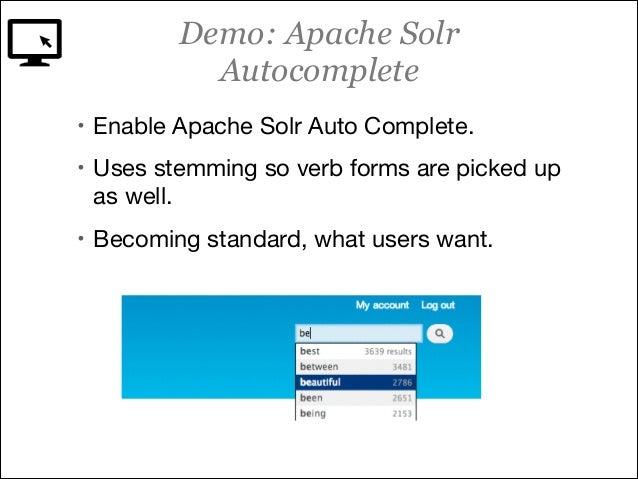 Apache Solr Search Course Drupal 7 Acquia