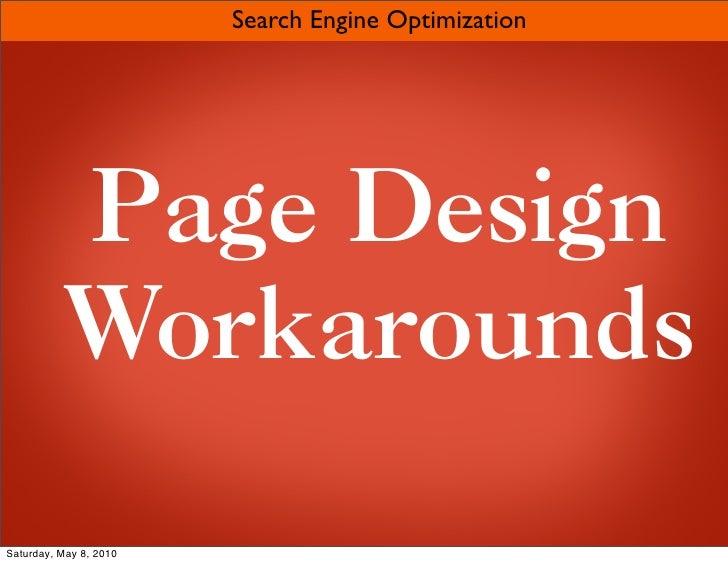 Search Engine Optimization slideshare - 웹