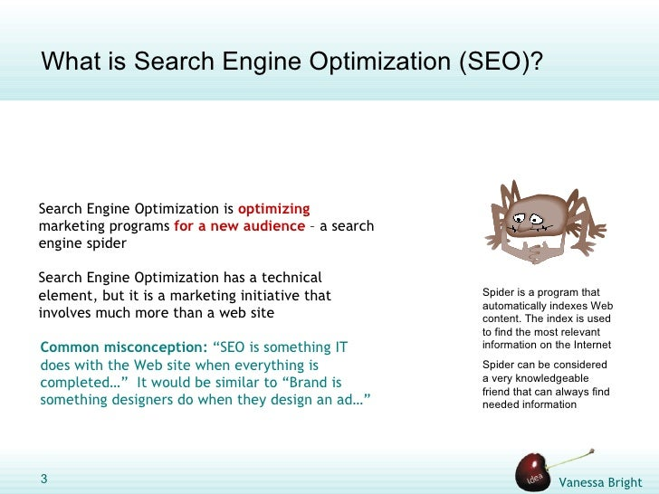 thesis on search engine optimization What is seo now this is how we should define what seo means in 2018, according to 60+ search engine optimization experts.