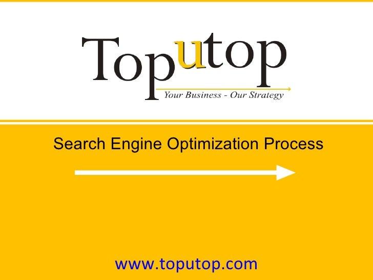www.toputop.com Search Engine Optimization Process