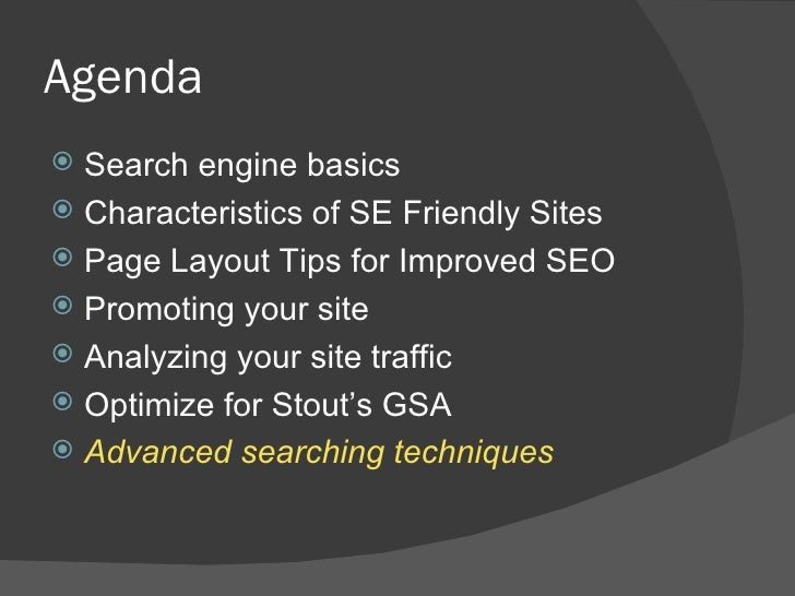 Search Engine Optimization Tips Within Commonspot slideshare - 웹