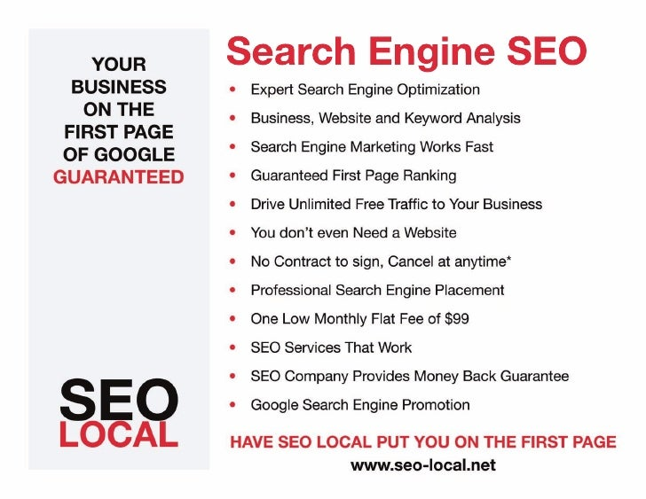 Search Engine SEO