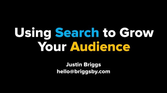 Using Search to Grow Your YouTube Audience