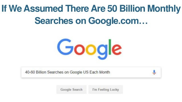 Google Images Would Have: 22.58 Billion Searches/Month