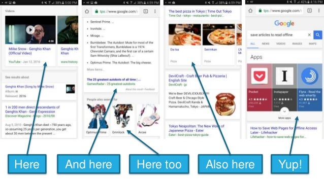 """16 Features Every SEO Should Consider: Videounits SERPFeature Type How toGet In """"PeopleAlsoAsk"""" FeaturedSnippet MapsBox Kn..."""
