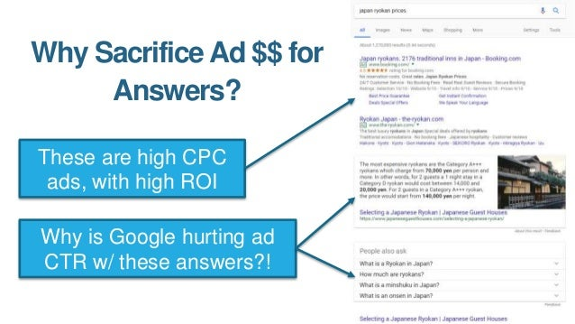 Answers  More Searches Google's willing to lose a lot of short-term revenue in exchange for addictive search behavior