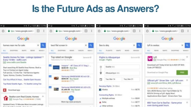 """In Organic, Featured Snippets Are Google's Primary """"Be the Answer"""" Bet."""