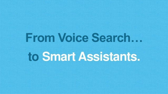 Voice Search = No Threat