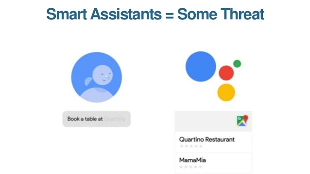 Voice Answers = Massive Threat Source