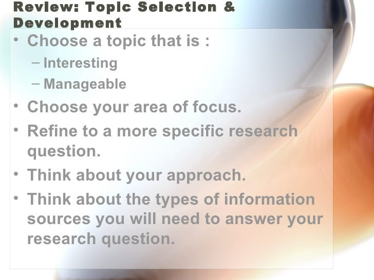 Search Terms And Strategies Slide 3